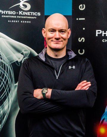 physiotherapist Albert Kehoe